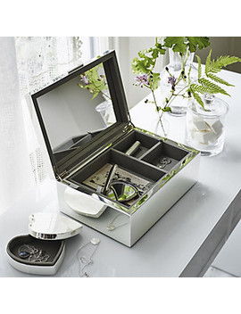 Silver Plated Large Jewelry Box    Silver by The White Company