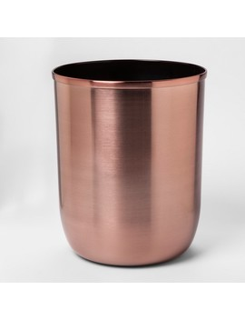 solid-bathroom-wastebasket-rose-gold---project-62 by shop-this-collection