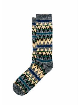 The Ski Lodge Sock by Kiel James Patrick