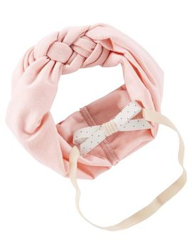 2 Pack Bow Headwraps by Oshkosh