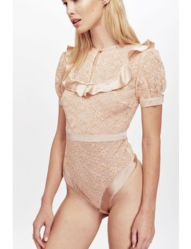 Kira Lace Bodysuit by For Love & Lemons