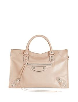 small-city-leather-satchel by balenciaga
