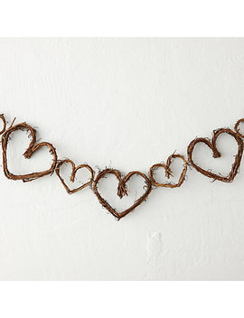 Grapevine Hearts Garland by Terrain