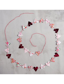 Liberty Hearts Garland by Terrain