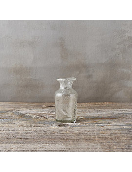 Bubble Glass Bud Vase, Flare by Terrain