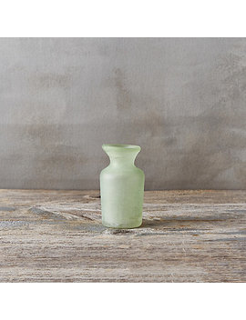 Sanded Glass Bud Vase, Flare by Terrain