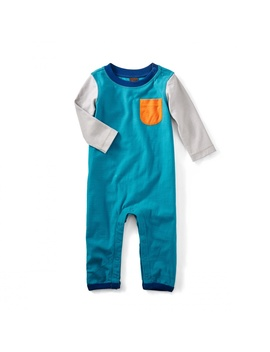 Roddy Pocket Romper by Tea Collection