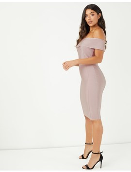 Lipsy Bardot Bandage Dress by Lipsy