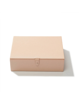 Structured Leather Box by Cuyana