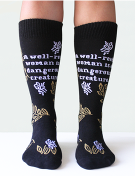 Sock: Well Read Woman by Strand Book Store