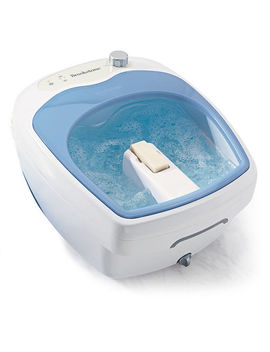 Heated Aqua Jet Foot Spa by Brookstone