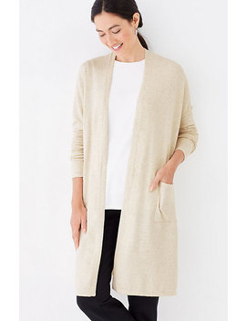 Pure Jill Long & Easy Cardi by J.Jill