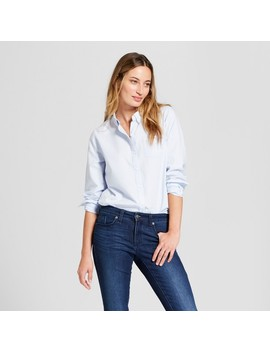 womens-long-sleeve-camden-button-down-shirt---universal-thread by shop-this-collection