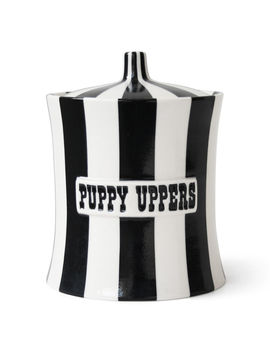 Puppy Uppers Canister by Jonathan Adler