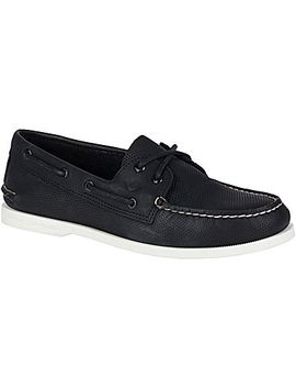 Men's Authentic Original Perforated Boat Shoe by Sperry