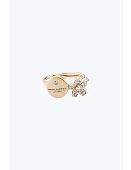 Mj Coin Charm Ring by Marc Jacobs