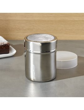 Powdered Sugar Shaker by Crate&Barrel