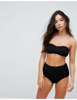 Weekday Textured Bikini Set by Asos Brand