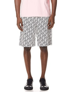 Allover Print Shorts by Msgm