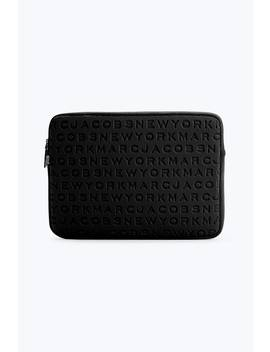 "Logo Neoprene 13"" Computer Case by Marc Jacobs"