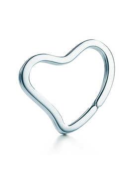 Open Heart Key Ring by Tiffany & Co