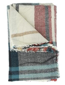Berlin Plaid Blanket Scarf by Cents Of Style