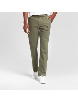 mens-slim-fit-hennepin-chino-pants---goodfellow-&-co-olive by goodfellow-&-co