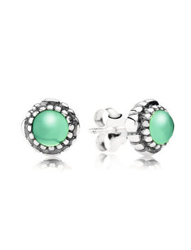 may-birthstone-stud-earrings by pandora