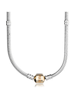 pandora-charm-necklace-–-two-tone by pandora