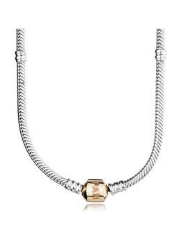 Pandora Charm Necklace – Two Tone by Pandora