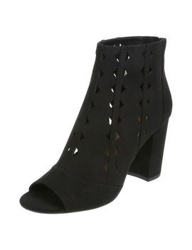 Women's Rallie Peep Toe Boots by Learn About The Brand Brash