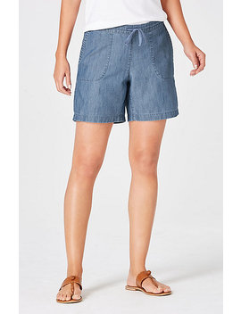 Cotton & Tencel® Shorts by J.Jill
