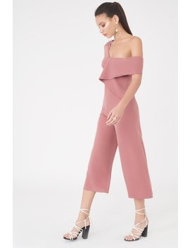 Origami Folded Culotte Jumpsuit by Lavish Alice
