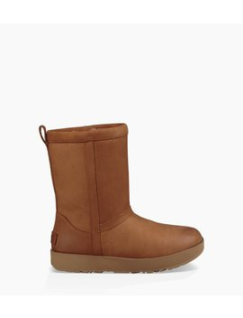 Classic Short Leather Waterproof by Ugg