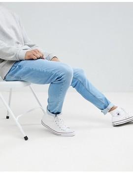 pull&bear-slim-jeans-in-light-blue by pull&bear