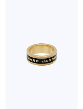 Logo Band Ring by Marc Jacobs