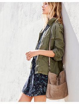 Siena Cross Body Bucket Bag by Garnet Hill