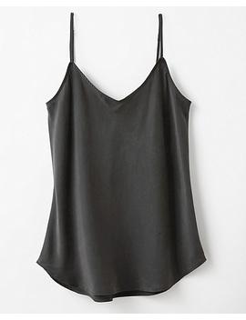 NewWashed Silk V Neck Camisole by Garnet Hill