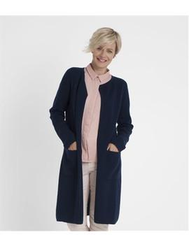 Womens 100% Merino Milano Long Cardigan by Wool Overs