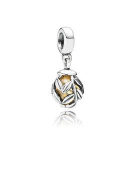 golden-laurel-leaves-pendant-charm by pandora