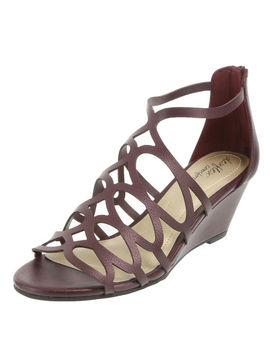 Women's Viola Low Wedge Sandal by Learn About The Branddexflex Comfort