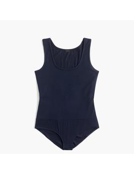 jcrew-365-stretch-tank-bodysuit-in-tencel by jcrew