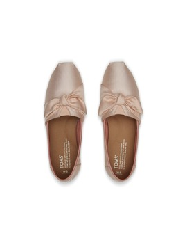 Blush Grosgrain Women's Bow Classics by Toms