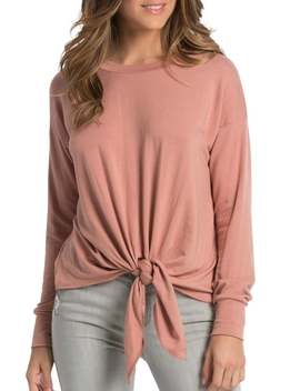 Tie Front Top by Charlotte's Web Towaco, New Jersey