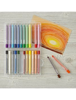 Oil Pastel Twisty Stix (Set Of 24) by The Land Of Nod