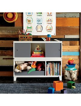 District Storage White 2 Cube Frame by The Land Of Nod