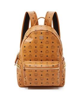 Stark Medium Side Stud Backpack by Mcm