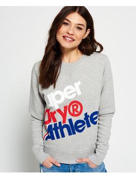 Athletics Crew Neck Sweatshirt by Superdry