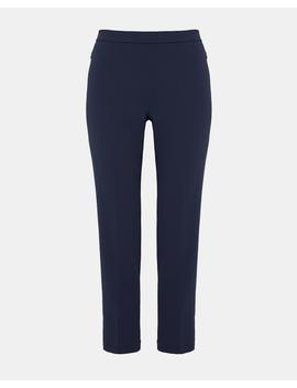 Crepe Basic Pull On Pant by Theory