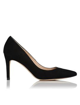 Floret Black Wide Fit Heel by L.K.Bennett
